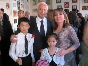 2007 RMAOA Students at RIA NEWS Concert with Maestro Spivakov